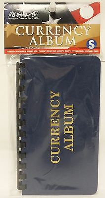 HE Harris Currency Album Small / Fractional Size Notes - 10 Pages - Paper Money