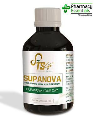 TS Life Supanova | Liquid Supplement For The Diet | 200ml | Stronger By Nature