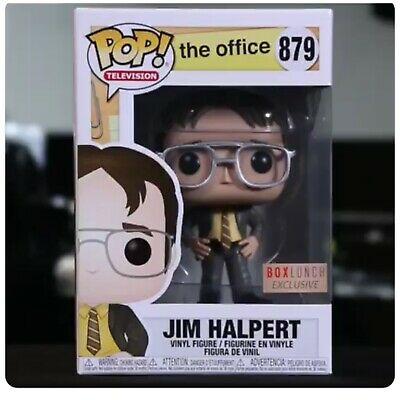Funko Pop Jim Halpert BoxLunch Exclusive The Office In Hand Double Boxed