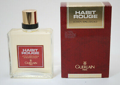 Guerlain Habit Rouge after shave 100 ml old edition