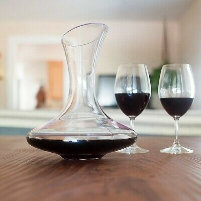 Doctor Hetzner Wine Decanter and Aerator with a Wide Base for Vivid Aerating,