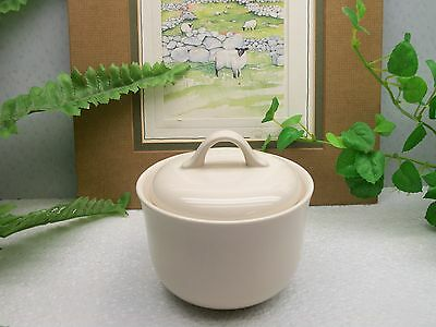 Corelle Corning Ware  SANDSTONE BEIGE  Covered Sugar Bowl with Lid Cover