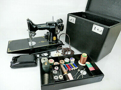 Rare Singer 221 K Sewing Machine Featherweight Collectibles