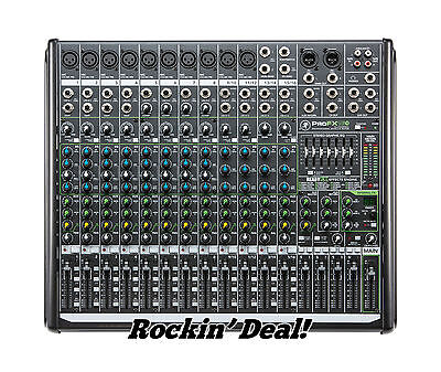 Mackie ProFX16 V2 16-Channel Professional 4-Bus Effects USB Mixer in ORIG BOX!!!