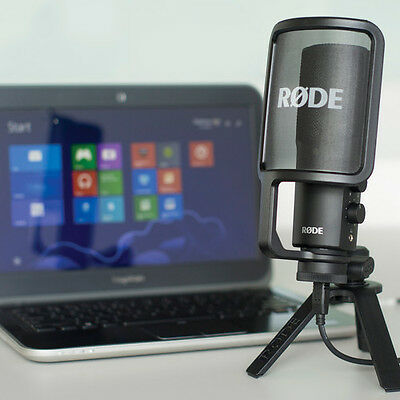 fRode NT-USB Versatile Studio-Quality USB Microphone NTUSB MIC for PC / Mac NEW
