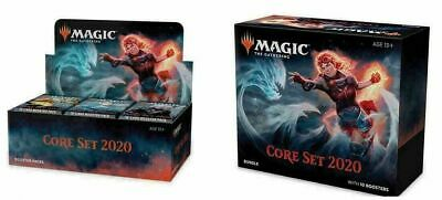 Magic CORE SET 2020 Booster Box + Bundle Box MTG IN STOCK - FREE PRIORITY SHIP