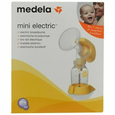 Medela Mini Electric Breast Pump (used once) - Perfect Condition RRP £80