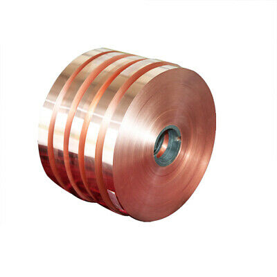1pcs 99.9% Pure Copper T2 Cu Metal Sheet Foil Plate Strip Thickness 0.01mm-1mm