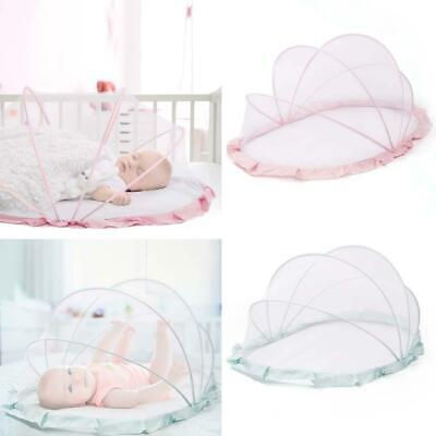 Portable Baby Crib Mosquito Net for Infants Breathable Foldable Cradle Bed