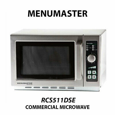 Menumaster RCS511DSE 1100w Commercial Light Duty Microwave 34L 1000W
