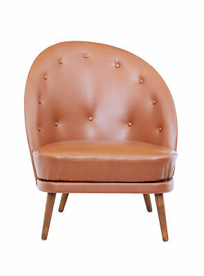 Mid 20Th Century Arne Norell Leather Armchair
