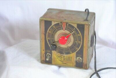 Time -o Lite master timer  for darkroom/ other use  vintage