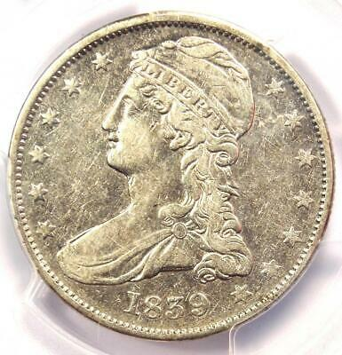 1839 Capped Bust Half Dollar 50C - PCGS XF Details  - Rare Certified Coin!