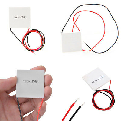 NEW TEC1 12703 12715 Heatsink Thermoelectric Cooler Cooling Peltier Plate BBC