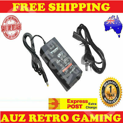 New Power Supply Adapter Cable Cord SONY PS2 Playstation 2 SLIM Console