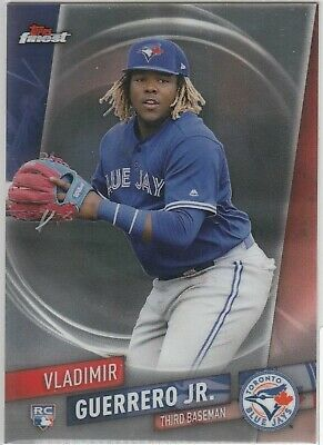 Vladimir Guerrero Jr. RC SP 2019 Topps Finest #101 Rookie Card HR Derby 91 🔥🔥