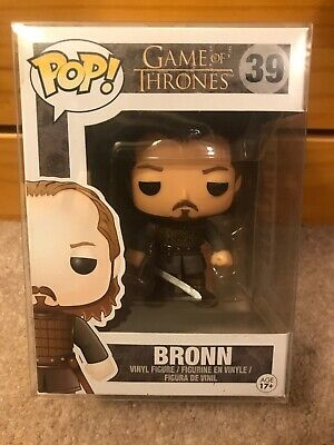 Funko Pop! Game of Thrones BRONN #39 Vaulted/RETIRED W/ Protector