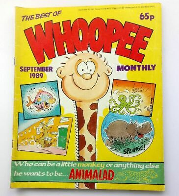 The Best of Whoopee Monthly September 1989 Childrens Kids Humour Humour Comic UK