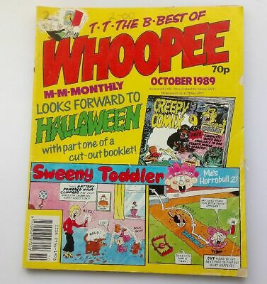 The Best of Whoopee Monthly October 1989 Childrens Kids Humour Humour Comic UK