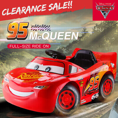 Kids Ride On Car Electric Lightning McQueen Genuine Cars 3 Children Toy Battery
