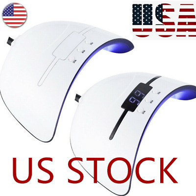 US 36W Nail Polish Dryer Lamp LED UV Gel Acrylic Curing Light Manicure Timer 03