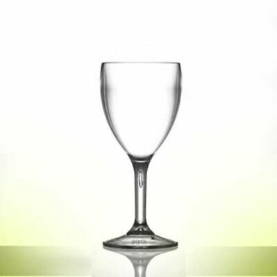 Elite Polycarbonate Wine or Champagne Glasses - Reusable 1000's of times