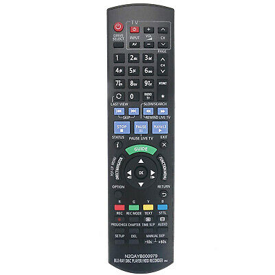 New N2QAYB000979 Remote for Panasonic DVD Recorder DMR-PWT540GL DMRPWT540GL