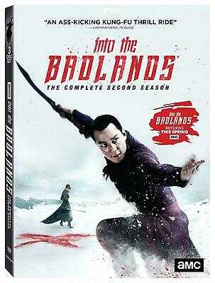 Into The Badlands In To Series Season 2 Complete Second DVD Box Set Collection