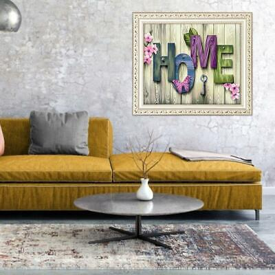 5D Diamond Painting Embroidery Cross Craft Stitch Pictures Arts Kit Mural Decor