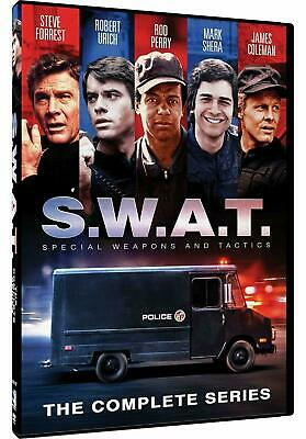 S.W.A.T / Swat 1976 TV Series Season 1-2 Complete DVD Box Set Collection New