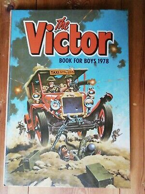 The Victor Book for Boys 1978 (Annual), D C Thomson, Very  Good Condition