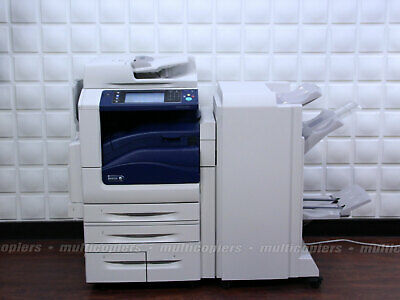 XEROX WORKCENTRE 7855 Color MFP Copier Printer Fax Scan Email Mobile 7835  7845