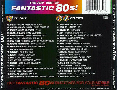 The Fantastic 80's - The Very Best of Fantastic 80's! (2 X CD ' Various Artists)