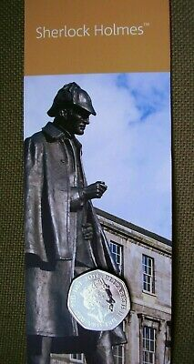 2019 UNCIRCULATED FIFTY PENCE SHERLOCK HOLMES  COIN 50p from ROYAL MINT SET.card
