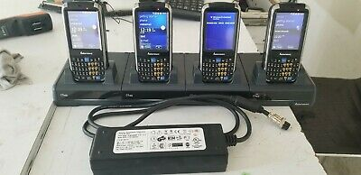 Intermec Cs40 Hand Held Barcode Scanner Lot 4X With Charger 100% Tested