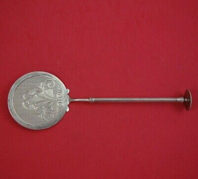 "Old English by Gorham Sterling Silver Tomato Server Bright-Cut 8 1/4"" Antique"