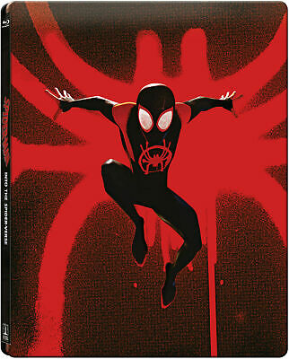 Spider-Man Into The Spider-Verse Blu-Ray UK Exclusive Steelbook New&Seal