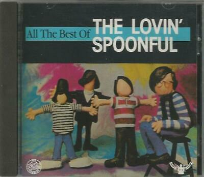 All the Best of the Lovin' Spoonful by The Lovin' Spoonful (CD, 1988, Pair)