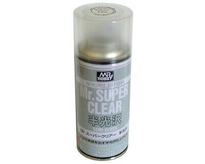 Mr.Hobby B516 Mr.Super Clear Spray trasparente semilucido (170ml) modellismo