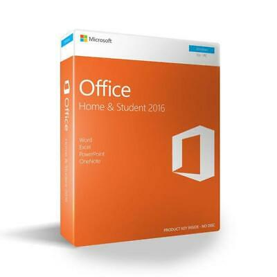 Microsoft Office Home and Student 2016 Windows 1 User Key Card