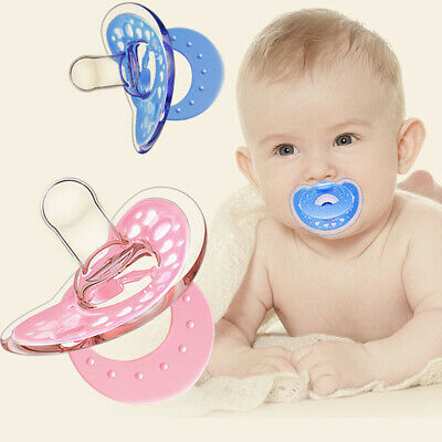 3pcs Silicone Baby Pacifier Durable Silicone Soother Nipple for Toddlers Babies