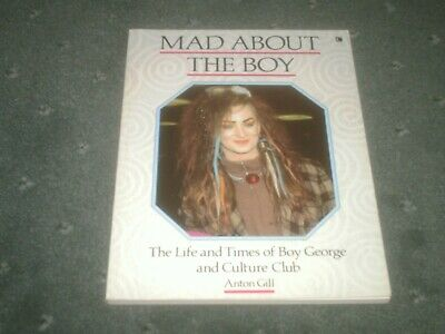 Boy George And Culture Club-Mad About The Boy-Rare Vintage Book-80S Pop