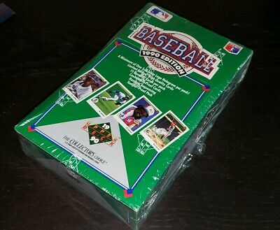 1990 Upper Deck Baseball Wax Box Sealed-36 PACKS-ROOKIES, LOW, FACTORY SEALED