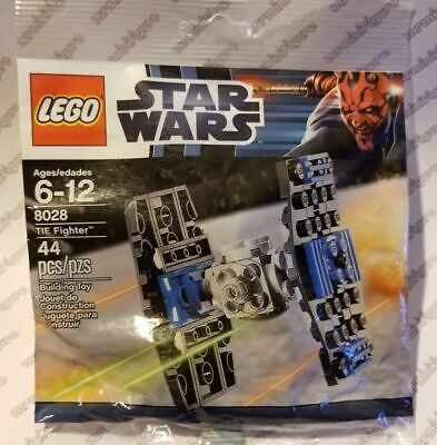 NEW /& SEALED 2012 Retired Set LEGO STAR WARS MINI SET 8028 IMPERIAL TIE FIGHTER