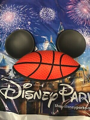 Disney NBA Experience Mickey Minnie Hat Ears Youth New In Hand Basketball