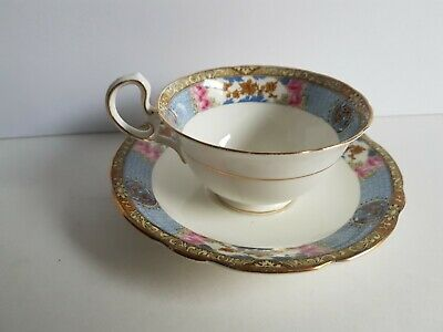 Aynsley Cup and Saucer Set Bone China England Tea Cup A 4229