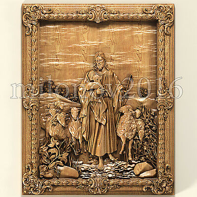 3d stl Model for CNC Router Artcam Cut3d Aspire Jesus