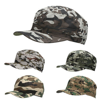Beechfield Army Cap Hat Cotton Military Baseball Urban Camouflage colours Mens