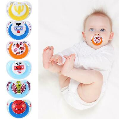 Cute Baby Infant Pacifier Silicone Toy Newborn Boy Girl Anti-Dust Nipple Soother