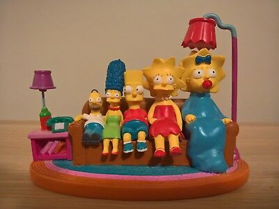 The Simpsons COUCH REVERSE SIZE Hamilton Figurine Couch Gags Collection HOMER